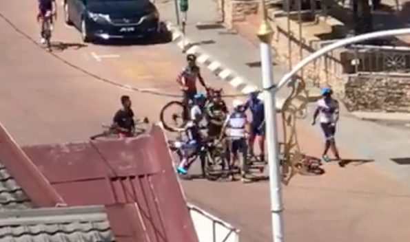 Cycling Fight