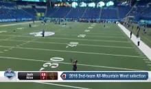 Josh Allen WINS The NFL Combine With INSANE 70-Yard Bomb (VIDEO)