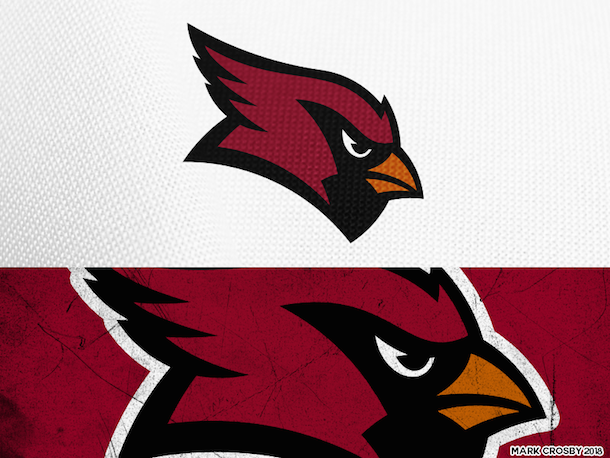 NFL Logo Redesign Mark Crosby Arizona Cardinals