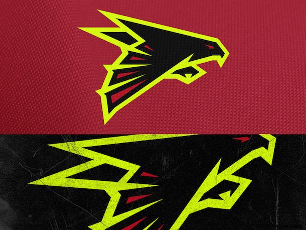 NFL Logo Redesign Mark Crosby Atlanta Falcons
