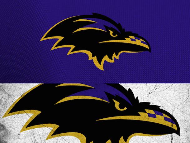 NFL Logo Redesign Mark Crosby Baltimore Ravens