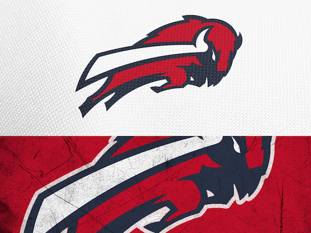 NFL Logo Redesign Mark Crosby Buffalo Bills
