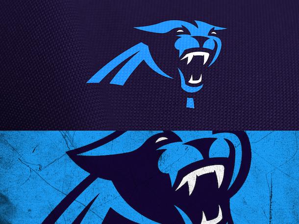 NFL Logo Redesign Mark Crosby Carolina Panthers