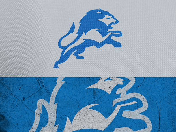 NFL Logo Redesign Mark Crosby Detroit Lions