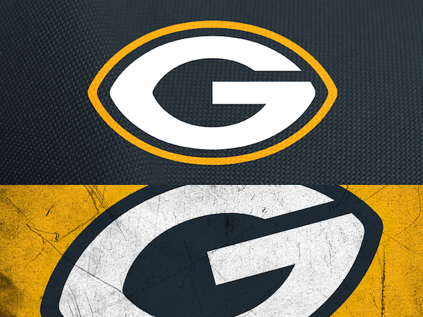 NFL Logo Redesign Mark Crosby Green Bay Packers