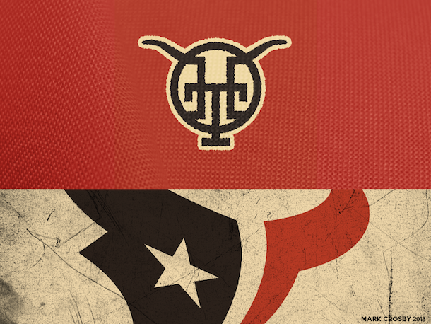 NFL Logo Redesign Mark Crosby Houston Texans