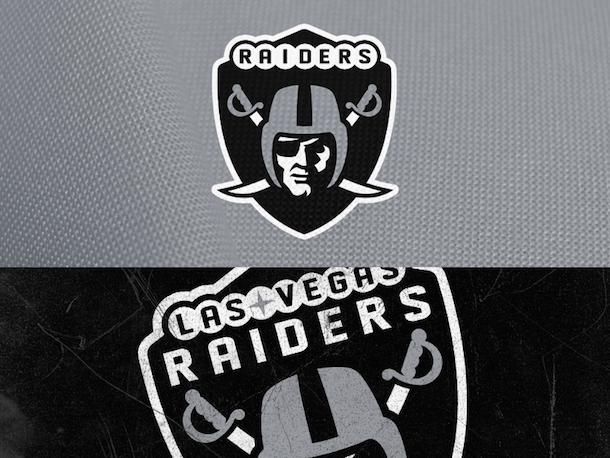 NFL Logo Redesign Mark Crosby Las Vegas Raiders