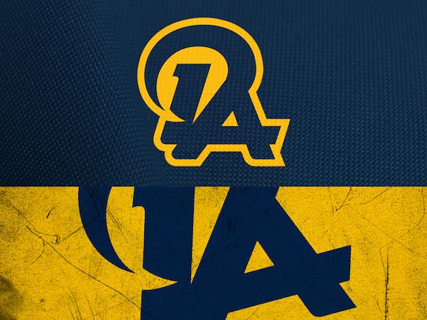 NFL Logo Redesign Mark Crosby Los Angeles Rams