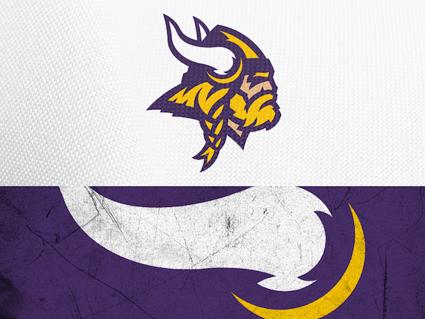 NFL Logo Redesign Mark Crosby Minnesota Vikings