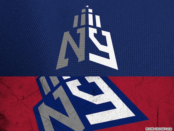NFL Logo Redesign Mark Crosby New York Giants