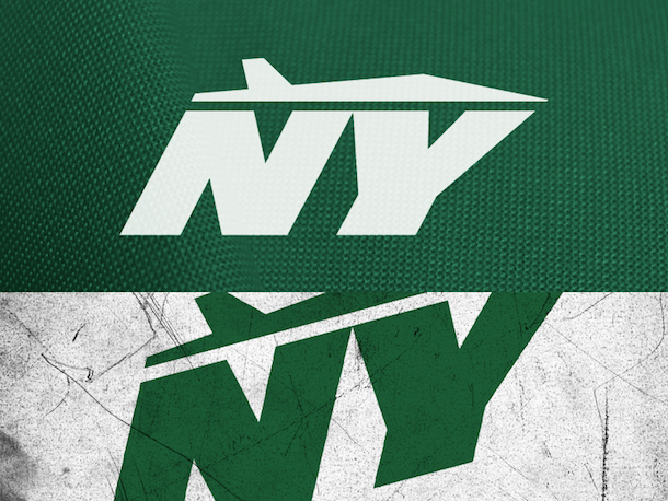 NFL Logo Redesign Mark Crosby New York Jets