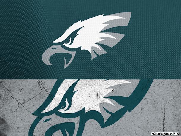 NFL Logo Redesign Mark Crosby Philadelphia Eagles