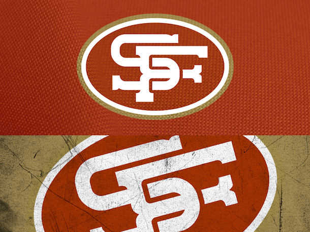 NFL Logo Redesign Mark Crosby San Francisco 49ers