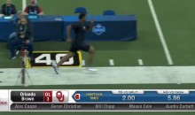 Orlando Brown Had The WORST 40-Yard Dash, And Twitter Let Him Have It (VID + TWEETS)