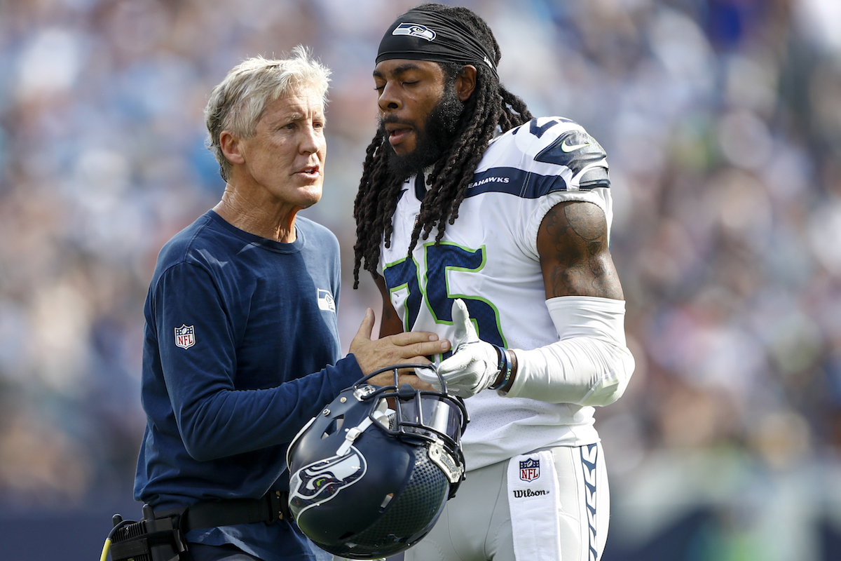 Richard Sherman: Pete Carroll's message to Seahawks had grown predictable