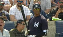 Russell Wilson Strikes Out on 3 Pitches For The Yankees During Spring Training Game (VIDEO)