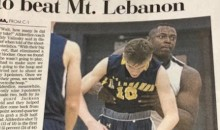 WTF Is Going On In This HS Basketball Newspaper Photo??? (PIC)