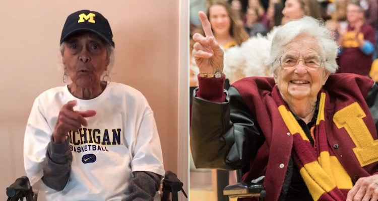 Sister Jean vs. Grandma Rose (Jalen Rose 100-Year-Old Grandma Talks Trash to Sister Jean)