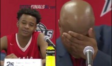 High School B-Ball Player Had His Coach In Tears After His Powerful Postgame Remarks (VIDEO)