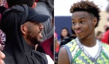 LeBron Jr. Was So Dominant at AAU Tournament, It Left His Godfather Chris Paul in Awe (VIDEO)