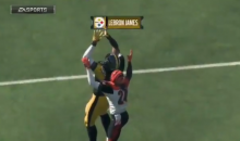JuJu Smith-Schuster Created LeBron James & Put Him On The Steelers In Madden (VIDEO)