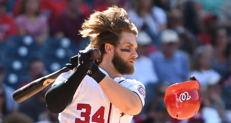 The Secret To Bryce Harpers Gorgeous Hair Two Dryers At Same Time Video