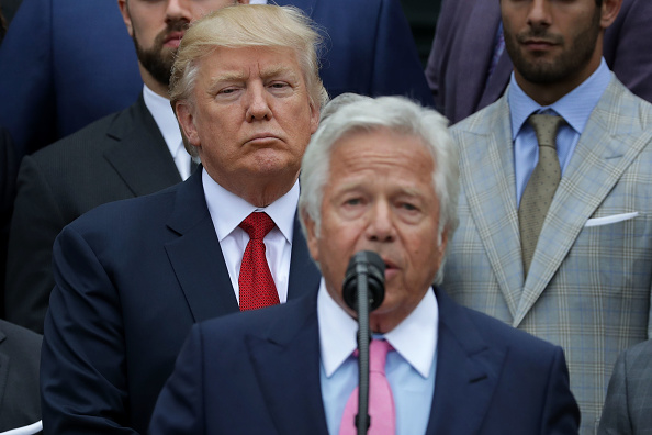 NFL Owners Feared Trump, Backlash Over Kneeling