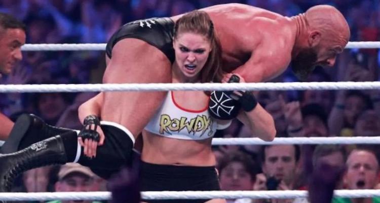Rowdy Ronda Rousey WrestleMania