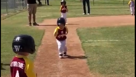 Slow baseball kid is the best sports video you'll see today