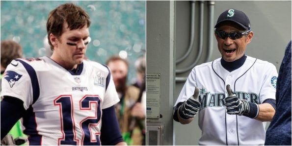 Baseball star Ichiro Suzuki has no clue who Tom Brady is