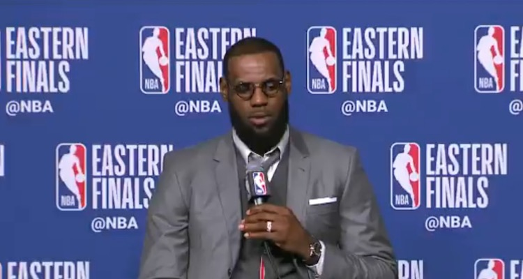 LeBron Shows Off INSANE Memory at Post-Game Press Conference | Total Pro Sports
