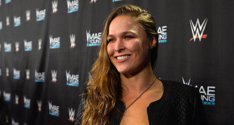 Video of Ronda Rousey making her WWE house show debut