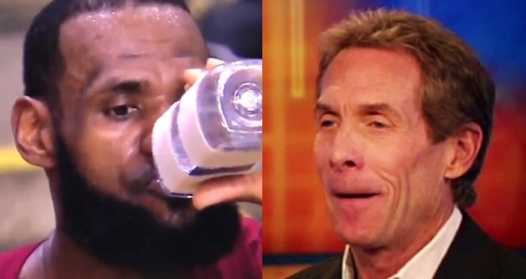 256136d6f52 Skip Bayless has made it very clear that he does not think LeBron James is  even in the conversation for Greatest Basketball Player of All Time.