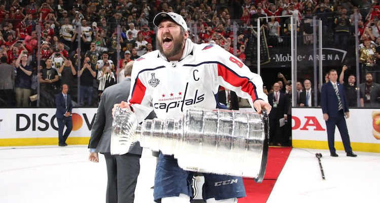 Alex Ovechkin Is Now Sleeping With The Stanley Cup Pics
