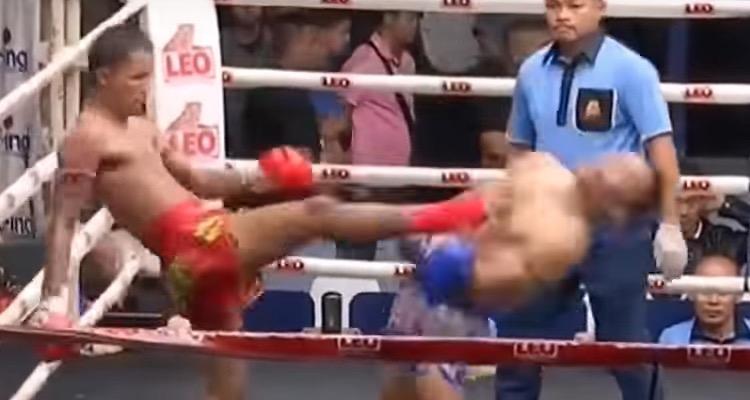Brutal Muay Thai Knockout