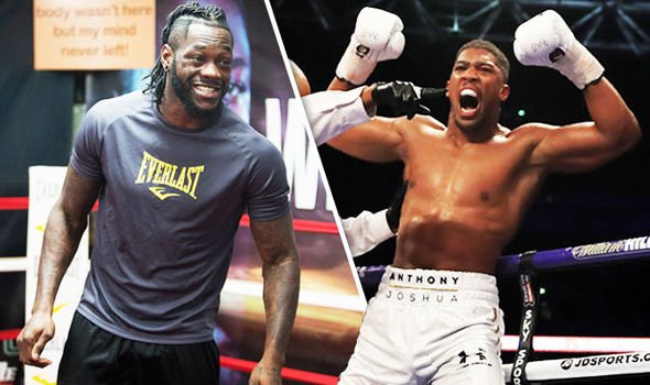 Deontay Wilder agrees to two-fight deal with Anthony Joshua