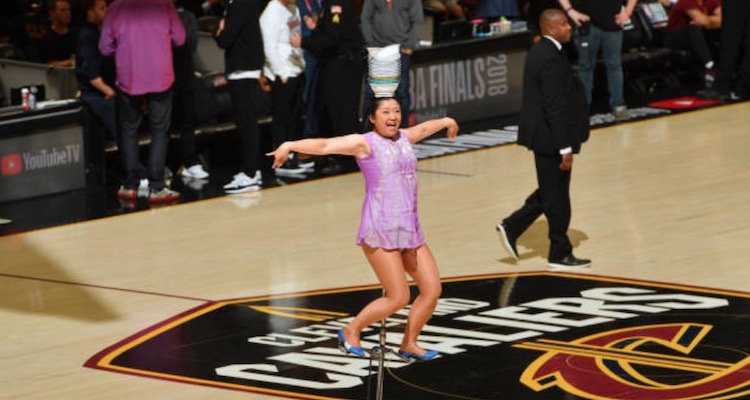 NBA Fans Were Shocked Red Panda Fell Off Her Unicycle During Game 3 | Total Pro Sports