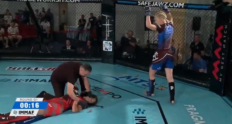 Women's MMA Knockout