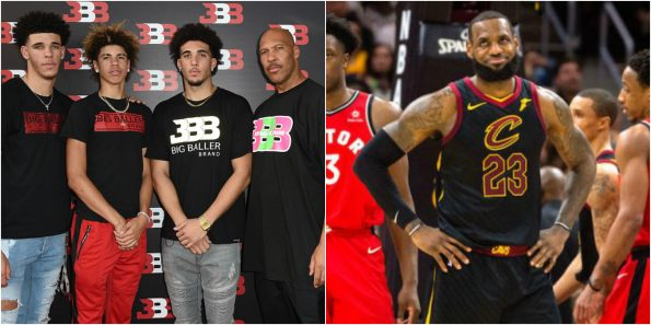 c197b6d9f98 LaVar Ball  Guarantees  LeBron   His 3 Sons Will Win Multiple Titles With  Lakers (VIDEO)
