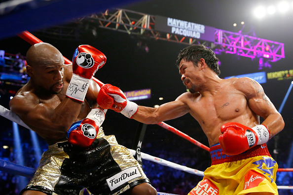 Manny Pacquiao Challenges Floyd Mayweather To Boxing Rematch