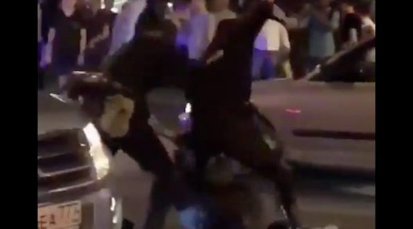 Russian Cops Beat Fan