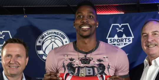 Dwight Howard Reveals Why He Chose Wizards Over Warriors In Free Agency