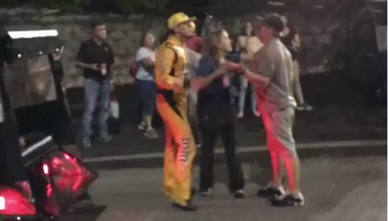 Fan Confronts & Tries To Fight Kyle Busch During Post-Race Altercation