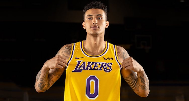 0d51a7291 The Los Angeles Lakers officially revealed their new jerseys for the  2018-19 season on Monday