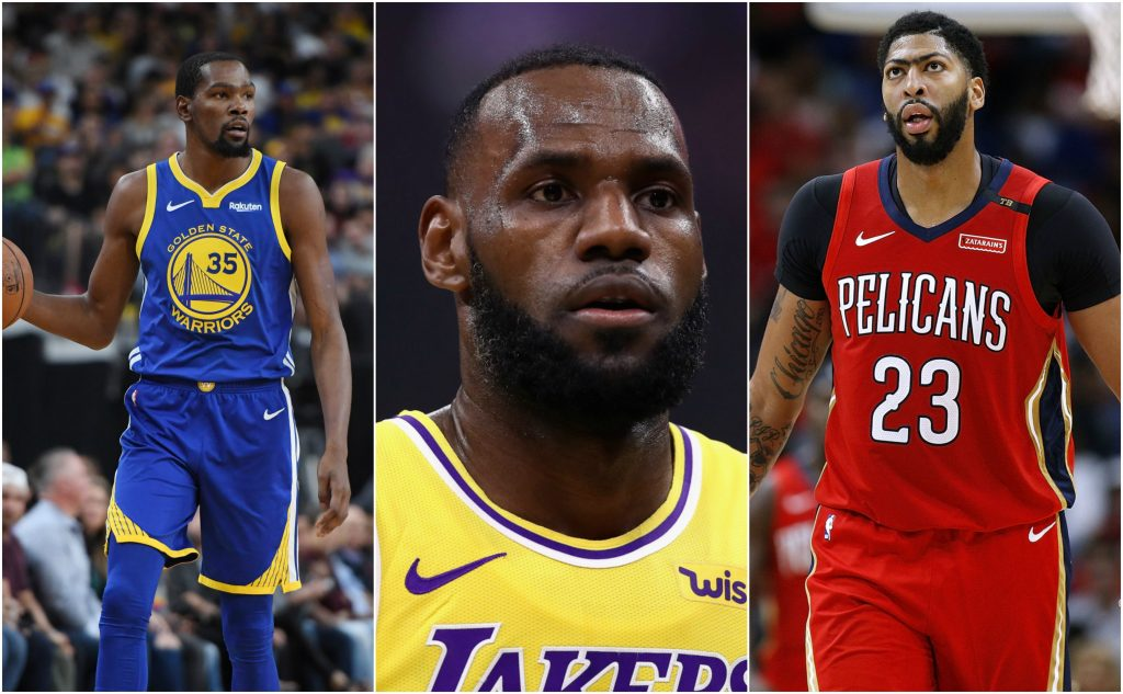 REPORT: Kevin Durant & Anthony Davis Likely To Join LeBron On The Lakers