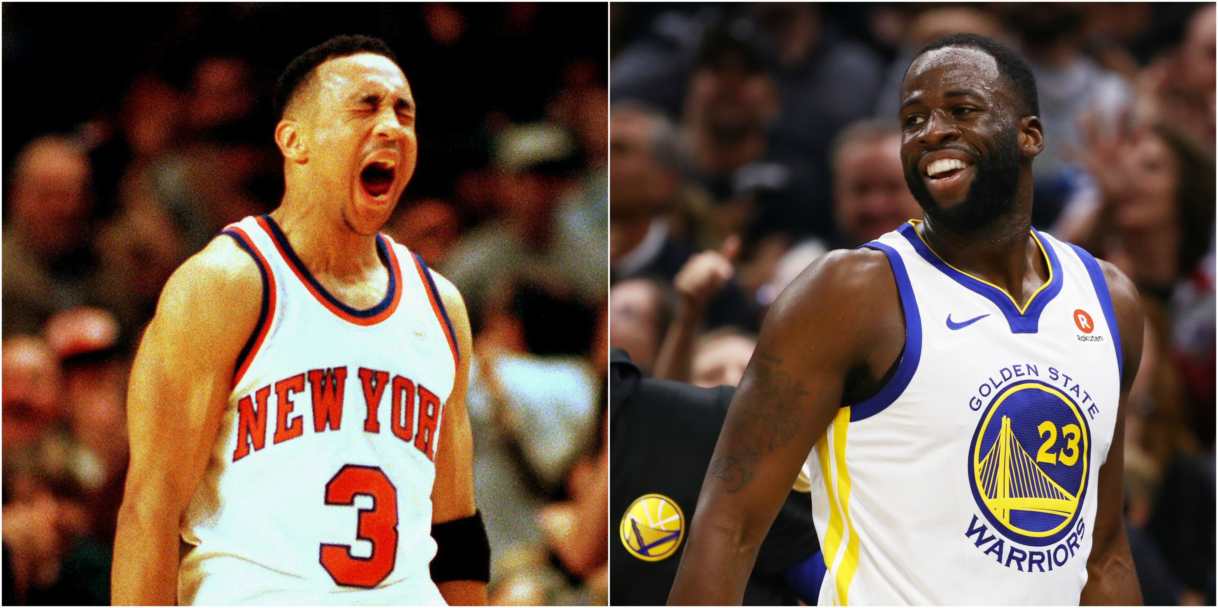 best sneakers 809ba 7a0c7 Ex-Knick John Starks Says Draymond Green Would Get Punked In ...