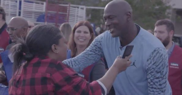 purchase cheap 59751 5f420 Michael Jordan Returns Home To Pass Out Thanksgiving Meals, Air Jordans,    Care Packages To Hurricane Victims (VIDEO)