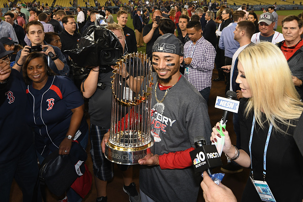 Mookie Betts won't go to White House with champion Red Sox
