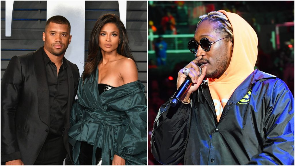 Ciara & Russell Wilson Cryptically Respond To Future After He Dissed Them