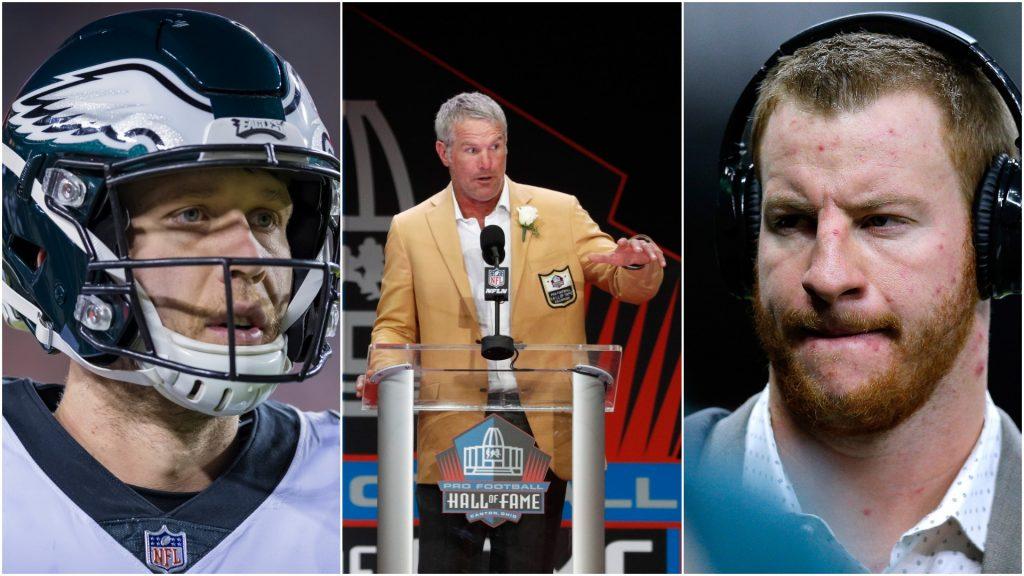 Brett Favre: Eagles should go with Nick Foles over Carson Wentz